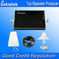 Lintratek 2G 3G  Cell Phone Signal Booster 850 MHz and 2100 MHz 65dB Gain Booster Dual Band Signal Amplifier  #9