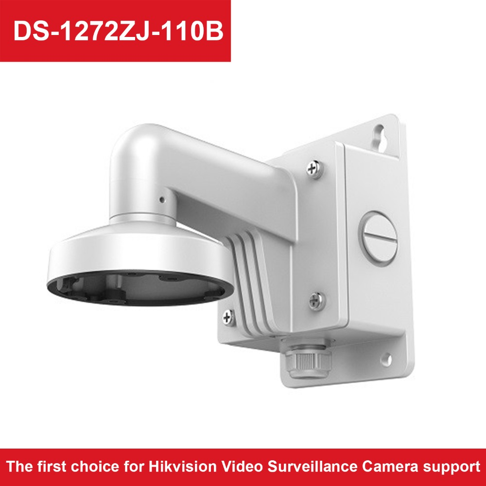 CCTV Accessories DS 1272ZJ 110B High Quality Aluminum Alloy Wall Mount Bracket with Junction Box for