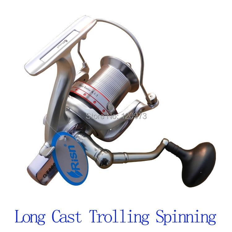Risn gt6000 gt8000 14bb surf casting reel long shot wheel for Casting fishing reels