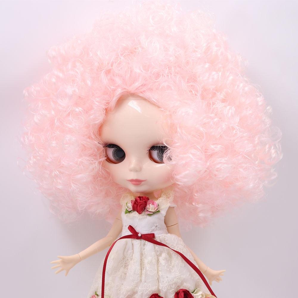 ICY Nude Factory ตุ๊กตาบลายธ์ตุ๊กตา No.QE126/QE300 สีชมพู Afro ผม JOINT body สีขาวผิว Neo 1/6-ใน ตุ๊กตา จาก ของเล่นและงานอดิเรก บน   1