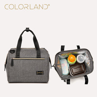 Colorland baby care diaper bag big capacity Diaper Bags fashion mother tote maternity bag infant nappay changing stuff organizer