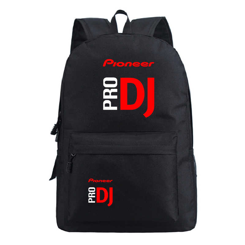Для мальчиков и девочек Pioneer Pro DJ рюкзаки популярной модели школьные рюкзаки Для мужчин Для женщин Back to Колледж Mochila