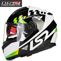 New ls2 helmet limited edition motorcycle helmet LS2 double visor, anti-fog visor free shipping FF320