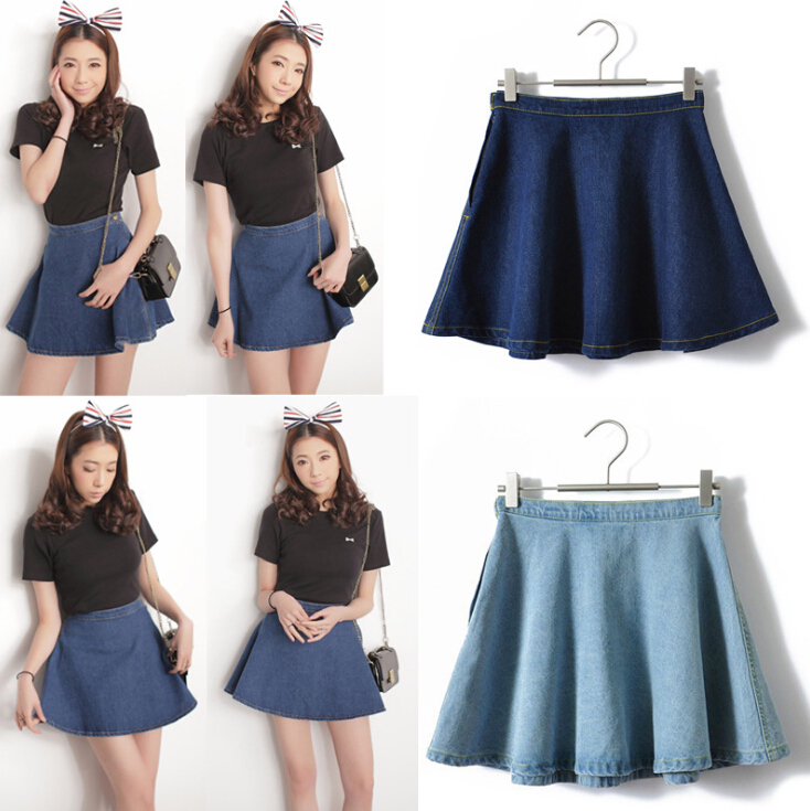 Online Get Cheap Denim Circle Skirt -Aliexpress.com | Alibaba Group