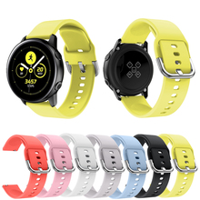 Watch Bracelet For 20mm Garmin Vivoactive 3 Music Band Silicone Smart Belt WatchBand Strap
