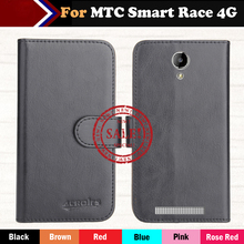 Factory Direct! MTC Smart Race 4G Case 6 Colors Luxury Ultra-thin Leather Exclusive 100% Special Phone Cover Cases+Tracking