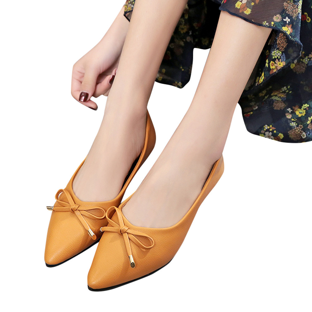 Women Shoes Spring Autumn Bowknot Pretty Square Flat Leisure Sweet Students Shoes Casual New Zapatos Mujer Female Shoes sagyua hot fashion stitchwork rose spring students maiden women zapatos casual female sapatos flat shoes chaussures flattie t136