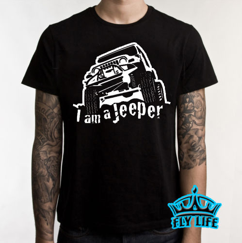 09657950 2018 New Arrival Free China Post Shipping Jeep Nation T Shirt Dont Follow Me  Mudding Jeeper Nice T-Shirt 4X4 Tee Shirt