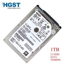HGST disque dur hdd de 2.5 pouces pour ordinateur portable, sata 3, 1000 go, 7200RPM, 6 GB/S, 1 to, RPM