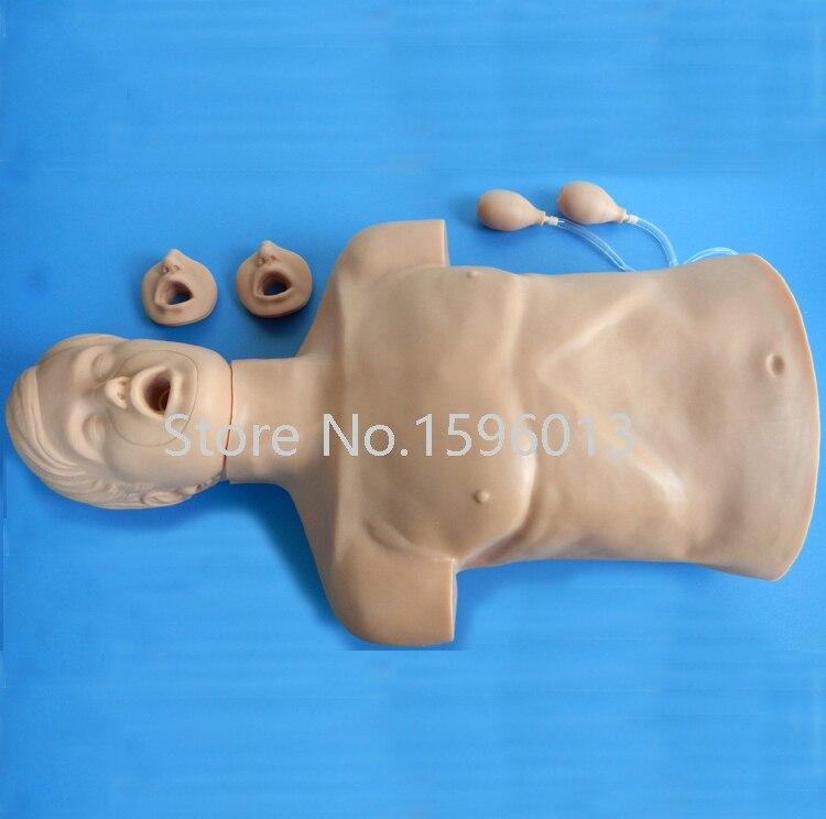 Взрослая модель, половинный реанимационный и удушающий манекен, модель манекена первой помощи