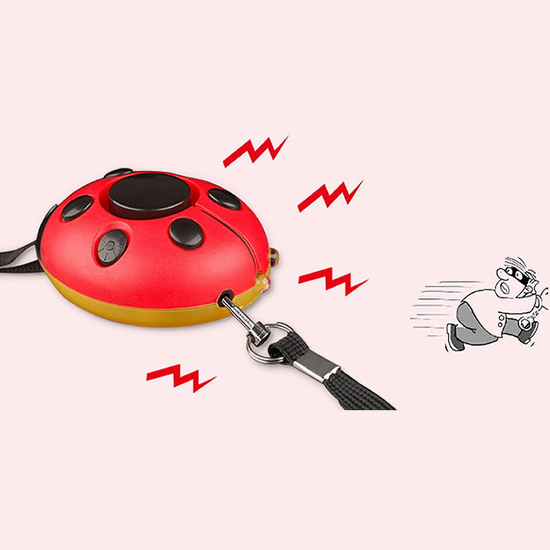 Self Defense Alarm 130dB Beetle Girl Women Security Protect Alert Security & Protection