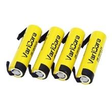 4 pcs VariCore bateria de iões de lítio 18650 bateria 3.7 2500 bateria muito pode manter o nível 20A eletrônico + diy níquel