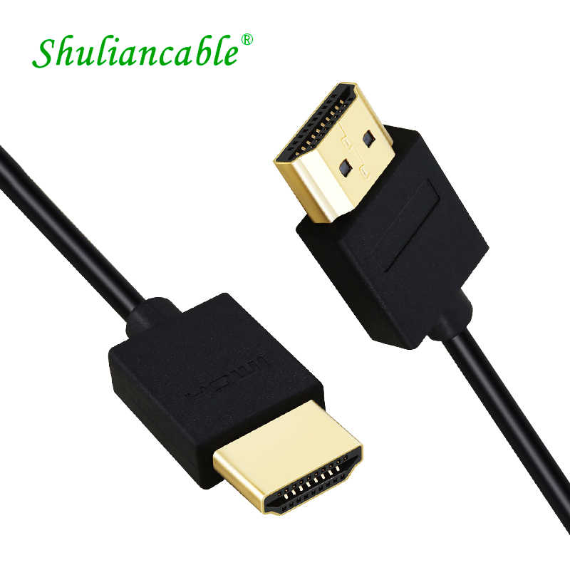 Shuliancable HDMI kabel High Speed HDMI Male-Male 2.0 1080P 3D voor Apple TV xbox computer 1m 1.5m 2m 3m 5m 7.5m 10m HDMI