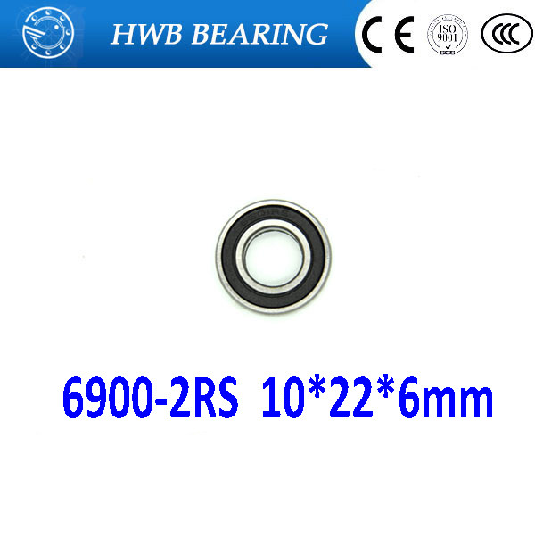 Free shipping 10pcs 6900-2RS 6900 2RS 10 *22* 6mm 61900-2RS The Rubber Sealing Cover thin bearings 6900 RS 10x22x6mm For bicycle free shipping 10pcs 6900 2rs 6900 2rs 10 22 6mm 61900 2rs the rubber sealing cover thin bearings 6900 rs 10x22x6mm for bicycle
