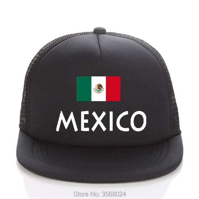 2018 Football Adult Trucker Hats Sun Hat Mexico Football Mesh