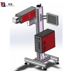 Automatyczna laserowa maszyna grawerująca Marker 20 watowa maszyna do znakowania laserem światłowodowym