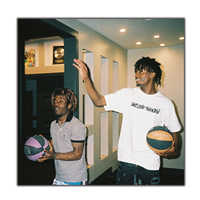Playboi Carti & Lil Uzi Vert Custom Rapper Hip Hop Music Singer 12x12 24x24 27x27 Art silk Poster Wall Canvas Print Modern Decor