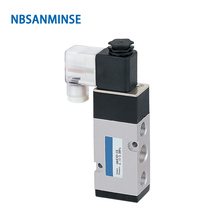 4M410 4M420 4M430 G 1/2 Manifold Type Solenoid Valve Single Double Coil Pneumatic Sanmin
