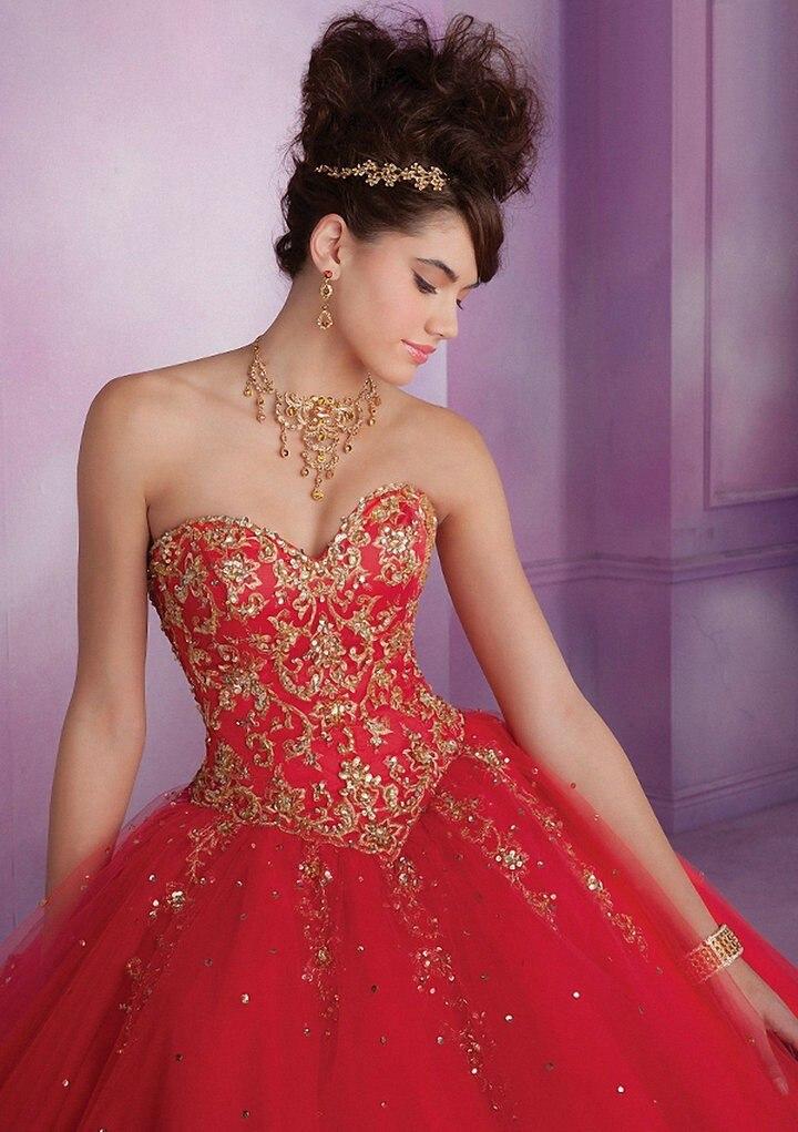 Aliexpress.com : Buy 2017 Custom Made Sweet 16 Dresses Ball Gowns ...