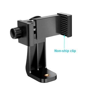 Image 4 - Rovtop אוניברסלי טלפון חצובה הר מתאם Rotatable Digtal מצלמה סוגר טלפון סלולרי גוזז מחזיק אנכי חצובה Stand