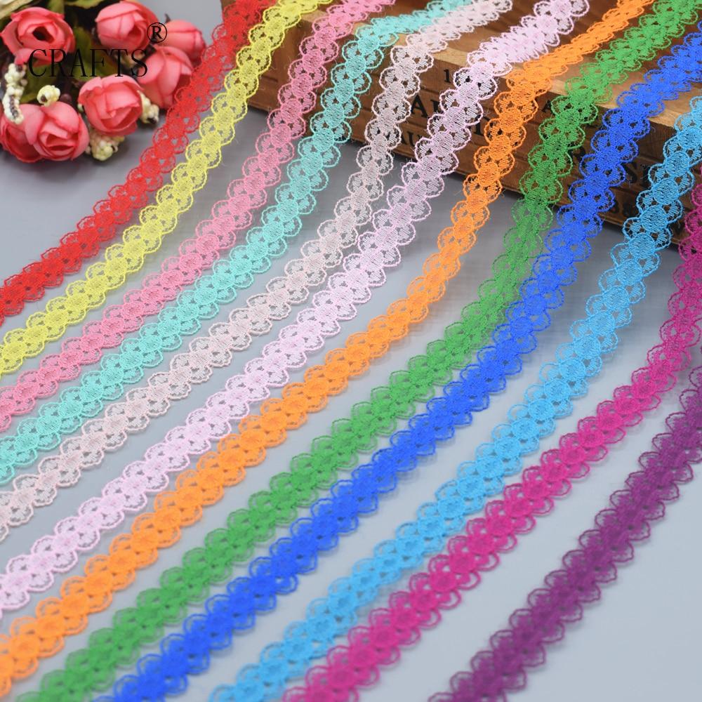 Wholesale 10 Yards Beautiful Lace Ribbon DIY Hand, Children's Clothing, Underwear, Wedding Dress, Women's Wear, Accessories 14mm