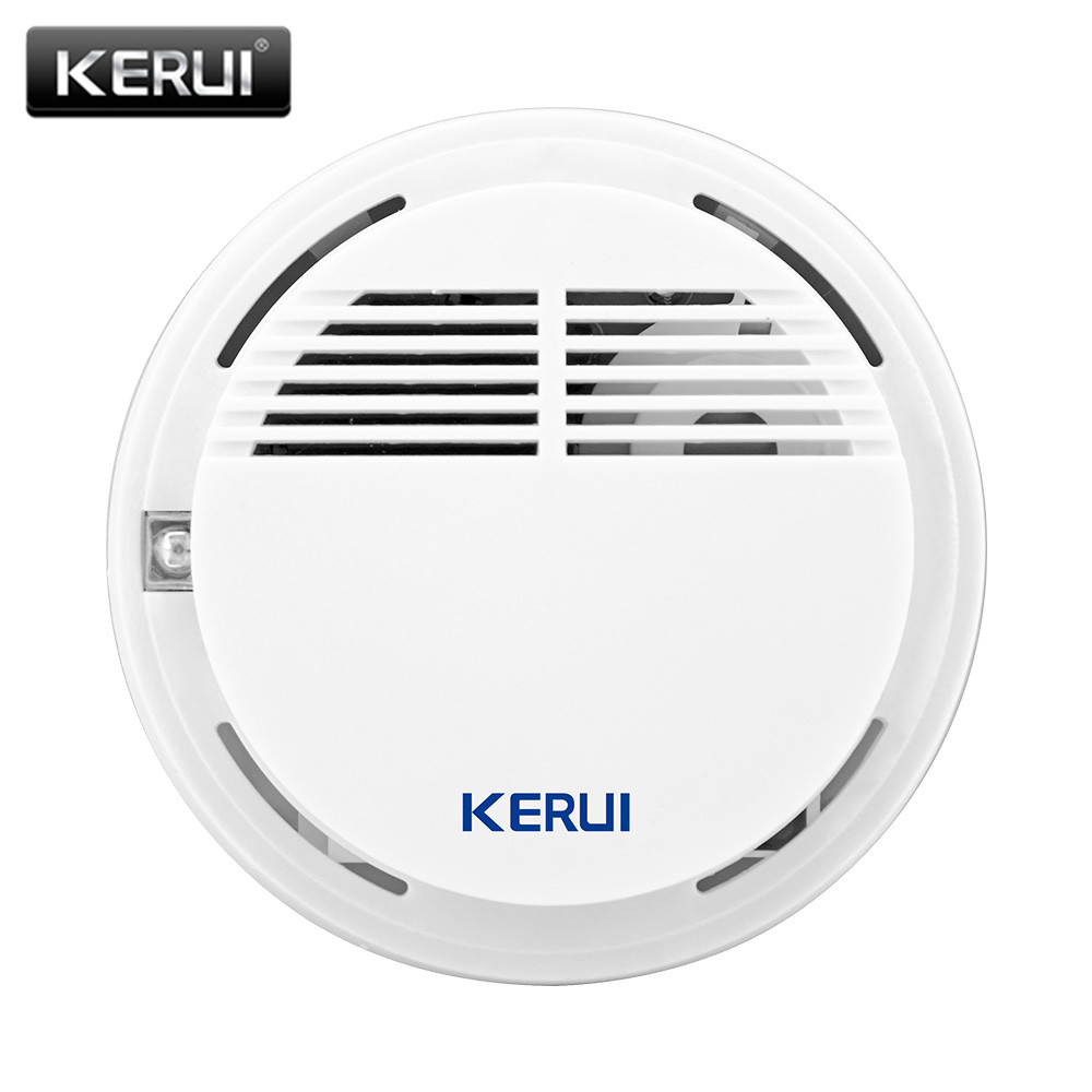 KERUI Wireless Smoke Alarm 85db Smoke Detector/Sensor Fire Protection Security Alarm