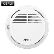 KERUI Wireless Smoke Alarm 85db Smoke Detector/Sensor Fire Protection Security Alarm