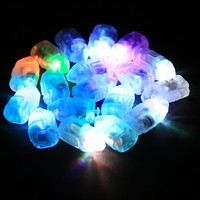Colorful 100pcs Lot LED Balloon Light Lamp For Paper Lantern Wedding Party Light Christmas Decoration