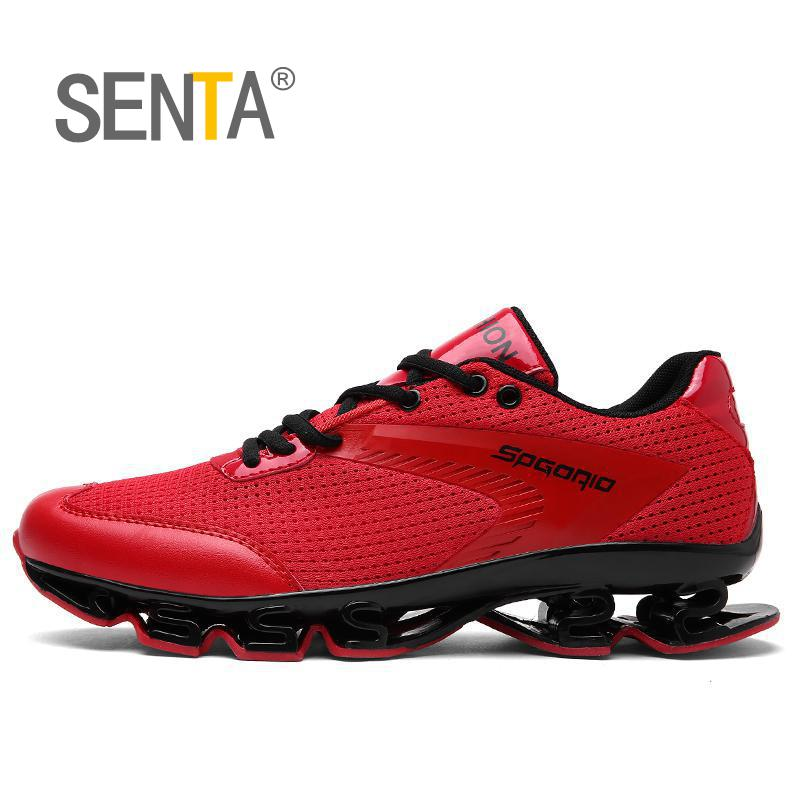 SENTA Blade summer brand sneakers men outdoors breathable sports running shoes for men sports used on treadmill 2018