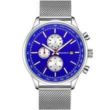Men Military Sport Mens Watches Luxury Brand Full Steel Casual Quartz Watch Waterproof Male Clock Chronograph Watch Readeel New цены