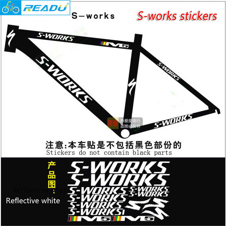 1set Vinyl Die Cut Stickers DIY Frame Stickers Frame Bike Stickers road bicycle Stickers наклейки stickers 20