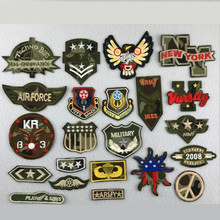 Camouflage Badges Embroidered Patch Iron On Patches Embroidery Sew DIY Coat Shoes Accessories