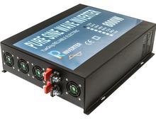 Off Grid 8000W Pure Sine Wave Power Inverter 12V 220V Solar Inverters Converters 12V/24V/48V to 120V/220V/240V For Refrigerator