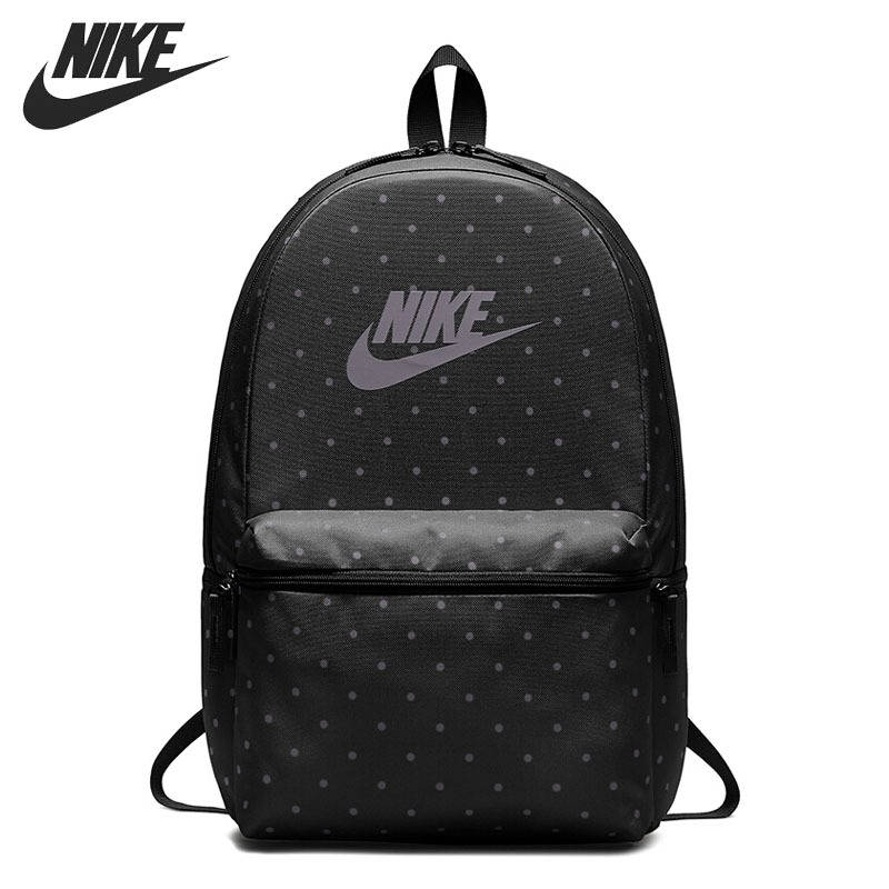 Original New Arrival  NIKE  HERITAGE BKPK - AOP Unisex  Backpacks Sports Bags