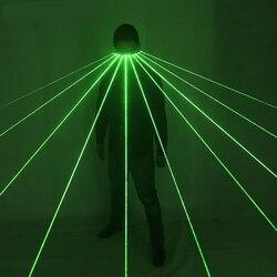 532nm Grün Laser Gläser Für Pub Club DJ Zeigt Mit 10 Pcs Green Laser LED Bühne Gläser