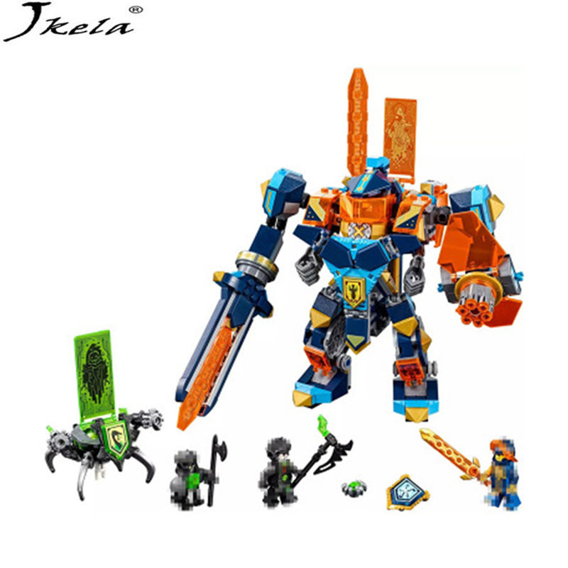 [hot] 72004 14043 567Pcs Legoings Nexo Knight Series Knights of the future high tech magic Ares Building Blocks Bricks Toy