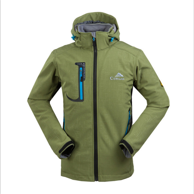High Quality 2018 NEW Outdoor Softshell Jacket Men Hiking Jacket Waterproof Windproof Thermal Jackets For Hiking Camping Spring new outdoor women multi function softshell hiking jackets outdoor camping coats thermal spring leisure sports female jacket