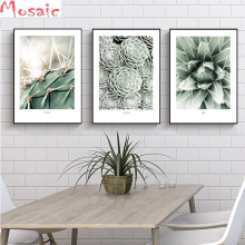 Full Square/Round Drill 5D DIY Diamond Painting 3 piece green plant Cactus Embroidery Cross Stitch kitchen Decor Gift