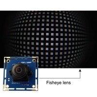 Ominivison OV2710 1080 P Wide angle USB módulo de câmera MJPEG 30fps/60fps/120fps alta velocidade de 180 graus olho de peixe CMOS placa da câmera