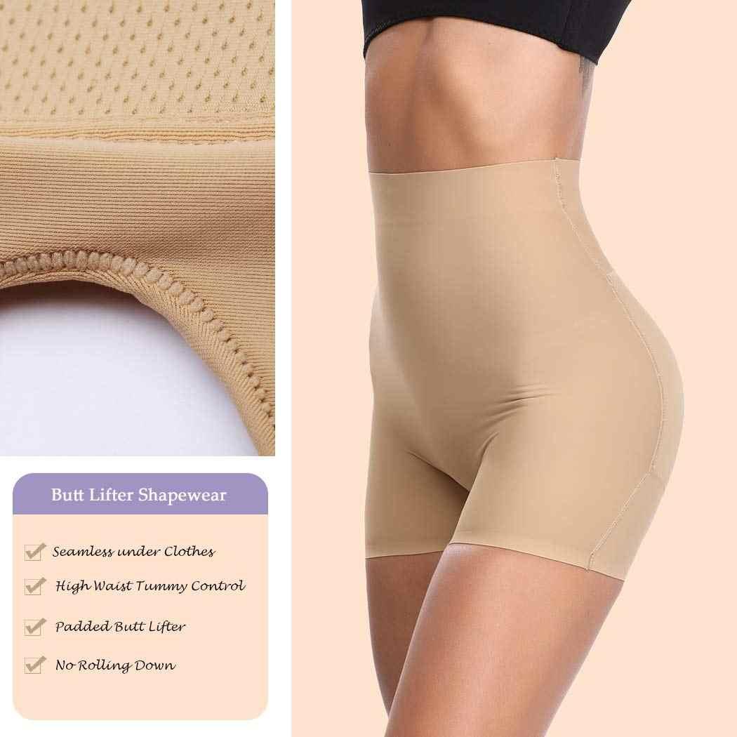 Joyshaper женские трусики с завышенной талией, Корректирующее белье с эффектом подтяжки, нижнее белье, мягкое легкое
