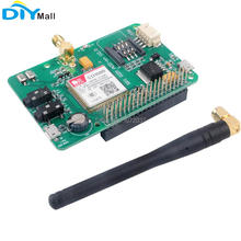 SIM800 Development Board 2G GSM GPRS Module Quad-Band UART Add-on V2.0 Message Expansion Board for Raspberry Pi sim800l v2 0 5v wireless gsm gprs module quad band sim board quad band with antenna cable cap for arduino