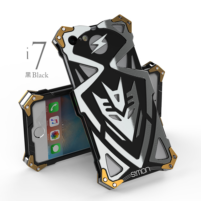I plus case Original Design PUNK Armor Heavy Dust Metal Aluminum THOR