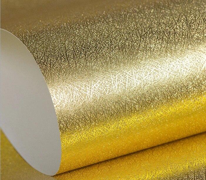 10 M X 53 Cm الفاخرة عاكسة سلك الرسم الذهب احباط خلفيات Pvc فضي لامع خلفيات للماء لغرفة المعيشة ديكور خلفيات Aliexpress