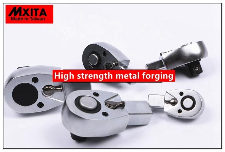 Cabezal de trinquete con llave de torque abierta MXITA 9X12 - Herramientas manuales - foto 3
