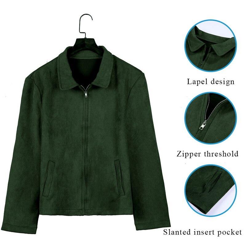 HTB1uneUarH1gK0jSZFwq6A7aXXa4 MJARTORIA 2019 New Fashion Men's Suede Leather Jacket Slim Fit Biker Motorcycle Jacket Coat Zipper Outwear Homme Streetwear