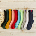 High Quality Thick Thread Woven Children Socks Soft Breathable Infant Baby Cotton Sock Boys Girls All-match Socks Suitable 1-10y