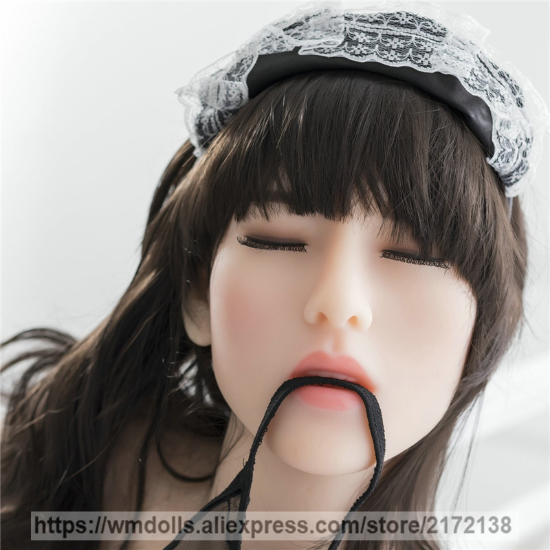 WMDOLL Closed Eyes Real Oral Sex For Realistic Silicone Sex Dolls Head Lifelike Adult Love Doll Heads WMDOLL Closed Eyes Real Oral Sex For Realistic Silicone Sex Dolls Head Lifelike Adult Love Doll Heads