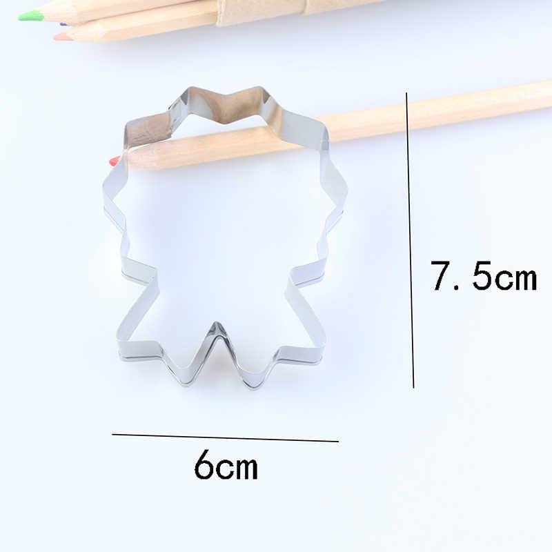1 PC Medal kształt stempel do ciastek ciasto ciasto Cutter Cupcake dekorowanie narzędzia kremówka formy cukier wklej akcesoria kuchenne 7125