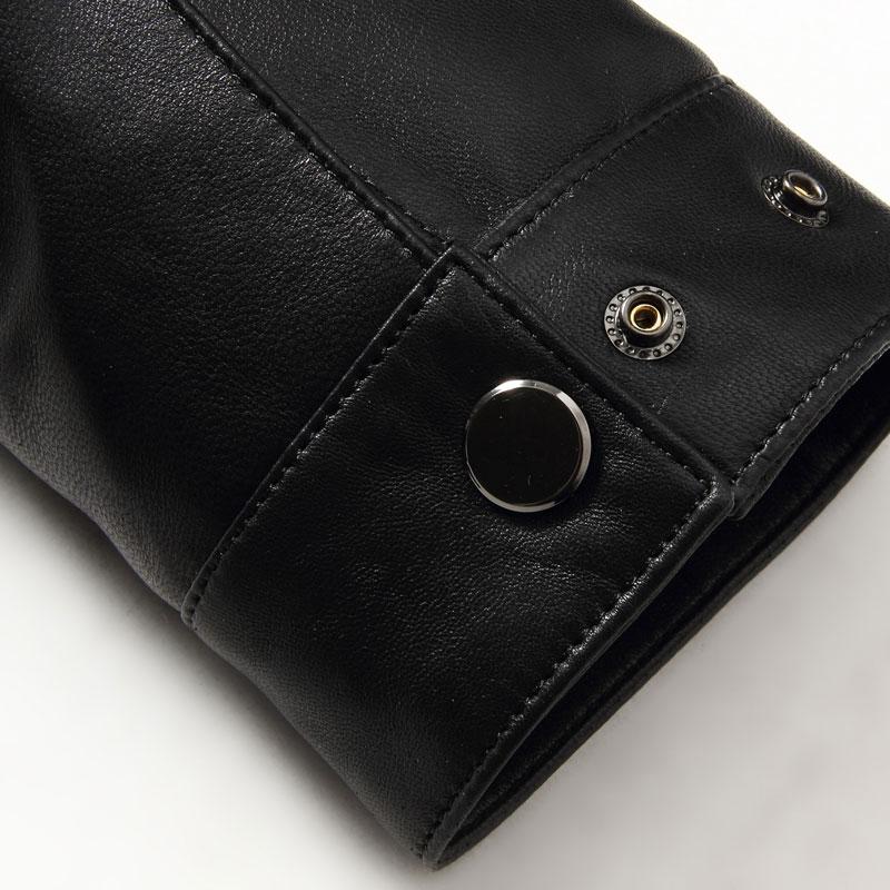 Black/Slim/Simple Business 14Z6608 Leather