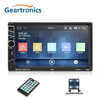 2Din Android 7.1 inch Car Radio GPS Navigation Quad Core Multimedia Radio Touch Screen WiFi 1080P Bluetooth MP5 Player Autoradio